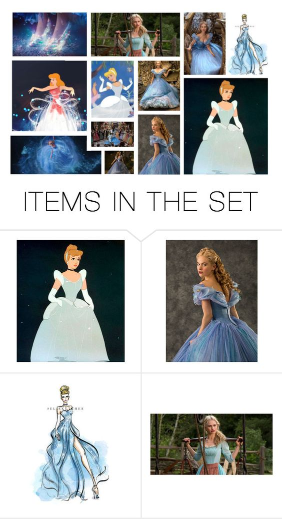 """Cinderella"" by lunaheart13 ❤ liked on Polyvore featuring art"