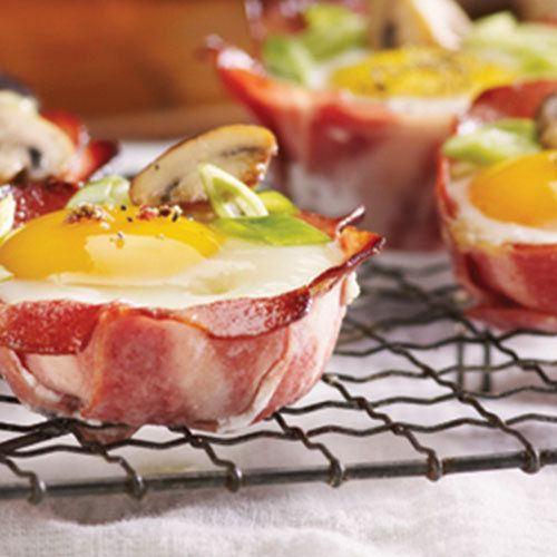 Eggs and Breakfast Chicken Strips Bake
