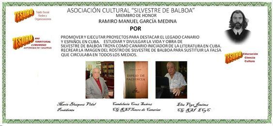 Asociación Cultural Silvestre de Balboa. Ramiro Manuel. Miembro de honor