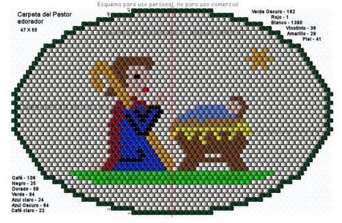 Pastor mappa imádja a gyermek - 47 X 55-1