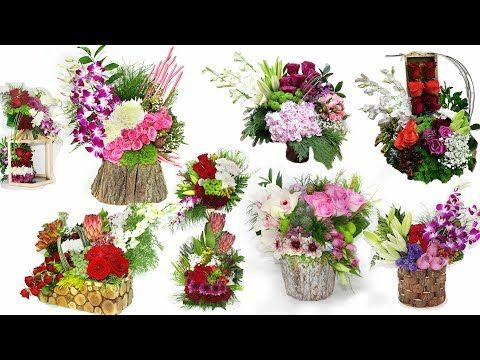 Top 10 Best Bouquet In Wood Box Styles Flowers Arrangement With Wood Box Youtube Flower Arrangements Beautiful Flower Arrangements Flowers