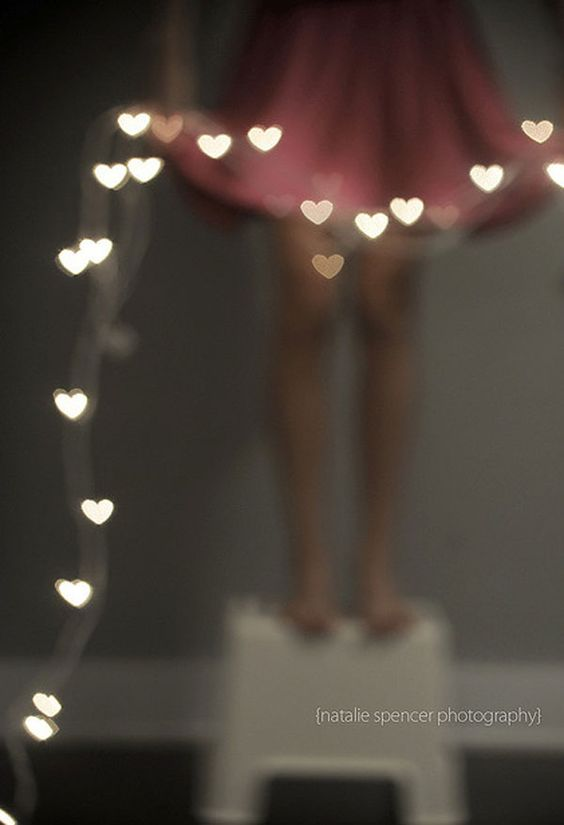 String Lights Bokeh : photo by natalie spencer PHOTOS THAT INSPIRE Pinterest Bokeh tutorial, My heart and Chang e 3
