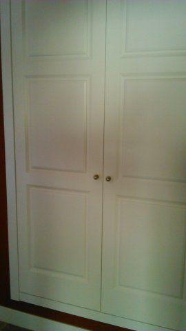 Armario con puertas lacadas en blanco armarios - Armarios en blanco ...