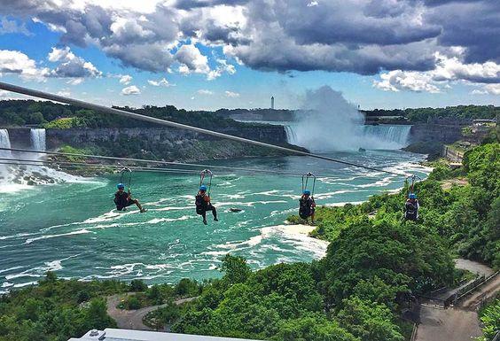 Ontarios neue Zipline verspricht eine außergewöhnliche Perspektive Hängepartie mit Ausblick
