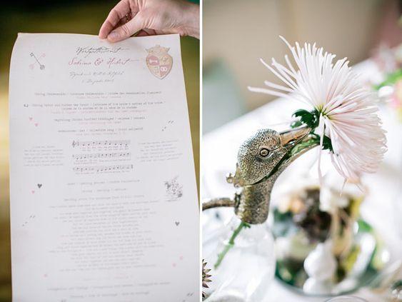 Alice in Winter Wonderland Wedding: Sabrina + Hubert, paper goods Custom made by Die exklusiven Einladungskarten