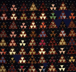 Cloud of Quilt Patterns: Blocks That Are Not Square: Triangular Blocks