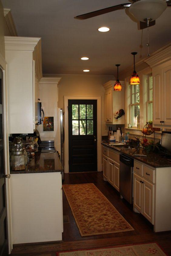 Off white kitchens black doors and kitchen black on pinterest for Kitchen back door