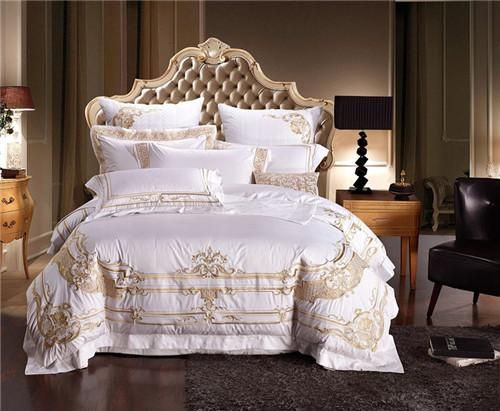 Luxury Royal Embroidery Duvet Cover Bed Set Luxury Bedding Luxury Bedding Sets Duvet Bedding Sets
