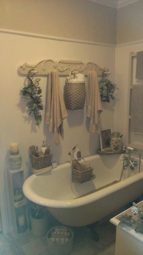 Neutral Bath Our Place Pinterest Tubs Vintage And