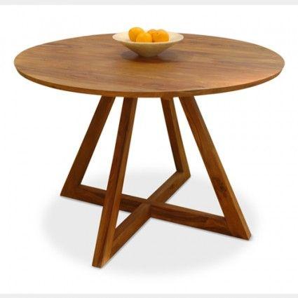 Round Dining Table - Retro