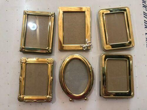 9 Wallet Size Metal Frames Frames Ebay Link In 2020 Frame Metal Frame Ebay