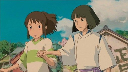 Spirited Away 2001 Animation Screencaps Studio Ghibli Art Studio Ghibli Spirited Away Ghibli Art