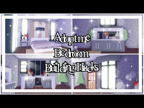 Adopt Me Bedroom Building Hacks Adopt Me Building Hacks Youtube Build Your Own House Unique House Design My Home Design