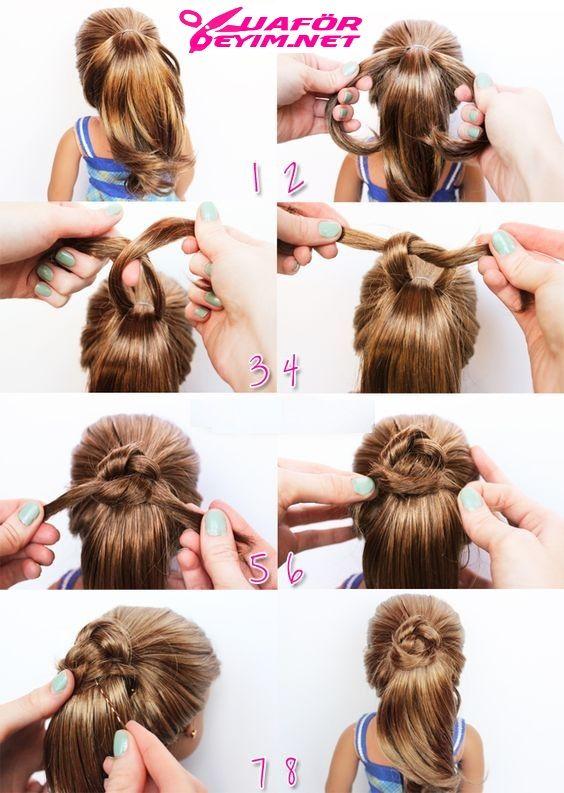 Çocuk Saç Örgü Modelleri ve Yapılışları Resimli Anlatım En iyi +24 fikir!