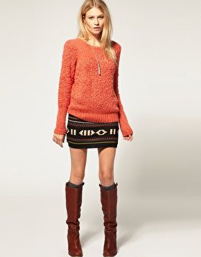 Love the navajo pattern for fall<3