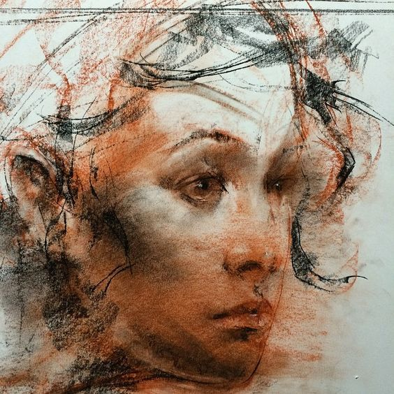 7f7ab445433bd3abc0fd275bbe95e4cd » Famous Conte Crayon Drawings