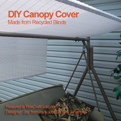 & How to Make a Replacement Swing Canopy | Canopy Swings and Backyard