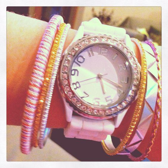 Love love love my layered watch look