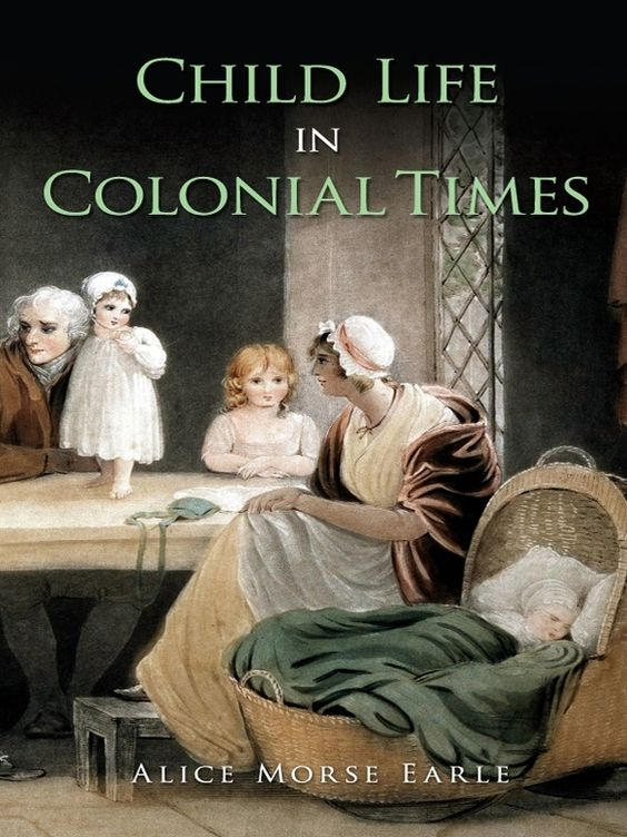 the role of children in colonial Family structure - us colonial to 1899 : in colonial times, children were looked upon as essentially chattel role, and conception.
