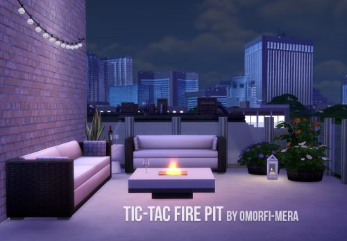 What a Beautiful Day | Tic-Tac Fire Pit Just a simple fireplace ...
