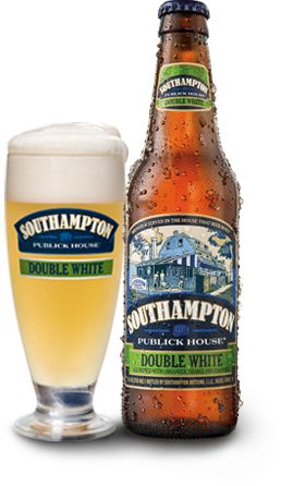 Southampton Publick House's Double White Beer, with all its luscious citrus and coriander notes, is rocking my world! Incredibly delicious...