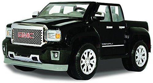 Amazon Com Rollplay Gmc Sierra Denali 12 Volt Ride On Vehicle Black Toys Games Power Wheels Toy Cars For Kids Kids Power Wheels