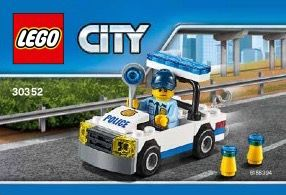 View Lego Instructions For Police Car Set Number 30352 To Help You Build These Lego Sets Lego City Police Lego City Lego Police Car