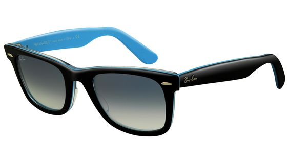 Black × Light blue wayfarer.........YES!!!!!