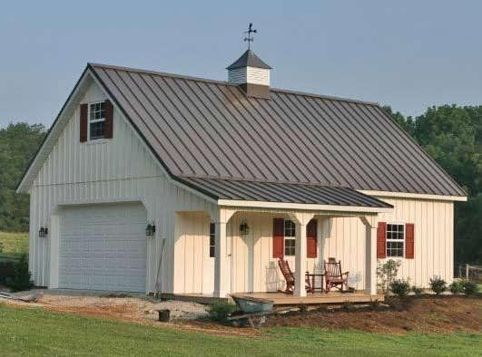 Metal Roof Metal Roof Fabral Farm House Makeover