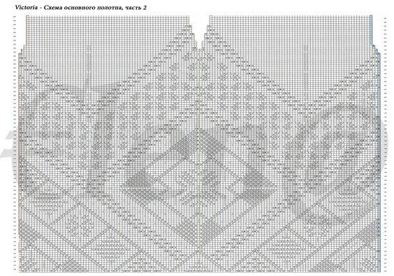 https://flic.kr/p/rcWmNB | Victoria - схема основного полотна, часть 2