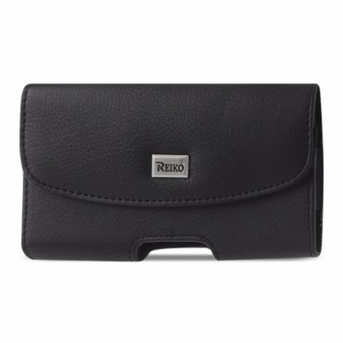 Reiko Horizontal Pouch Samsung Note Ii N7100 Plus Black Cell Phone With Cover Size Inner Size: 6.34X3.57X0.77Inch
