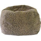 Found it at Wayfair - Animal Skin Bobcat Safari Bean Bag Chair