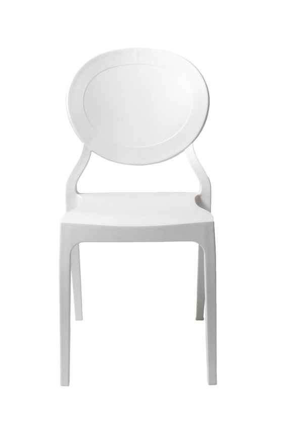 Vasska Side Chair White (set of 2)