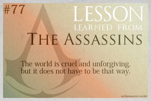 [AC] Lesson #77: The Assassins