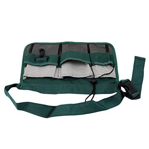 Myhouse Garden Waist Bag Green Gardening Tools Belt Bags Cleaning Tool Pouch Gardening Gear Gym Bag Bags