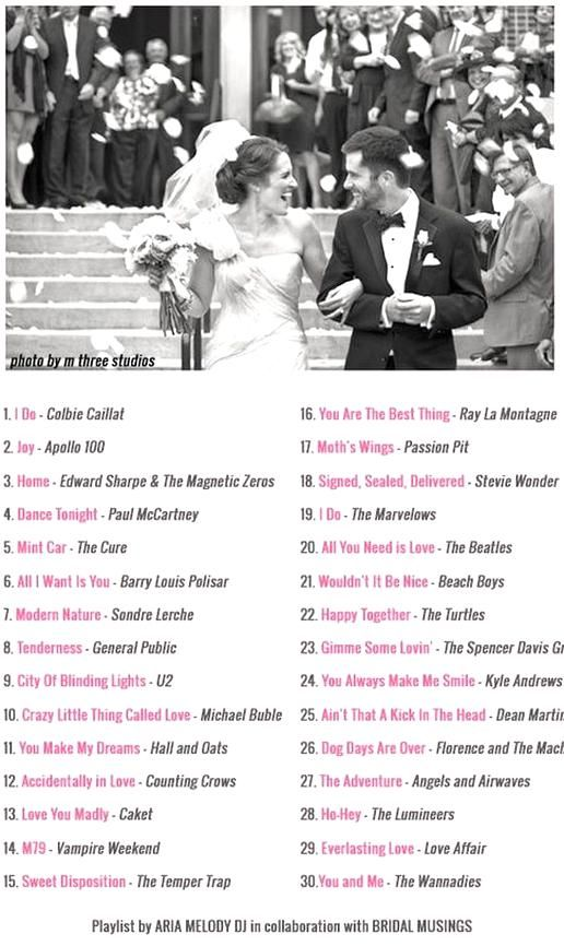 Love Every One Of These Songs Wedding Music 30 Modern Upbeat Recessional In 2020 Wedding Recessional Songs Wedding Music Playlist Perfect Wedding Songs