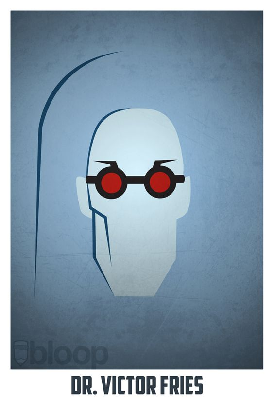 Mr. Freeze /// Comic Book Art Created by Andres Romero (a.k.a. bloOp on DeviantArt)
