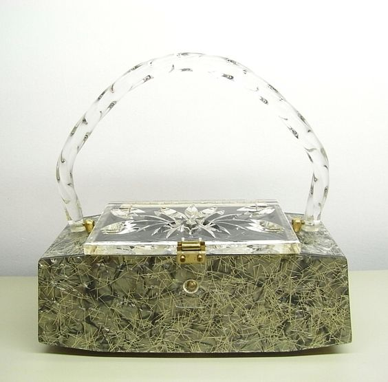 Nelson Originals lucite purse.from my collection