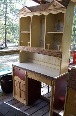 Everyday Life at Leisure: Junking Jackpot!  Dollhouse themed furniture...wow!