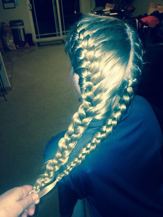 Classic French braids