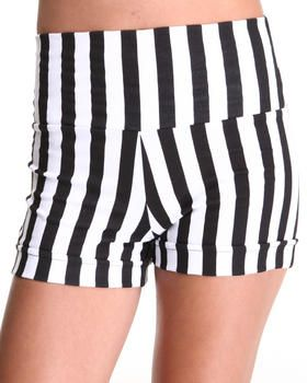 Buy Chester Railroad Stripe Highwaisted shorts Women's Bottoms from Fashion Lab. Find Fashion Lab fashions & more at DrJays.com