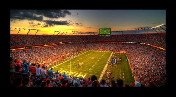 Miami's Sun Life Stadium #Miami #TheU #Hurricanes