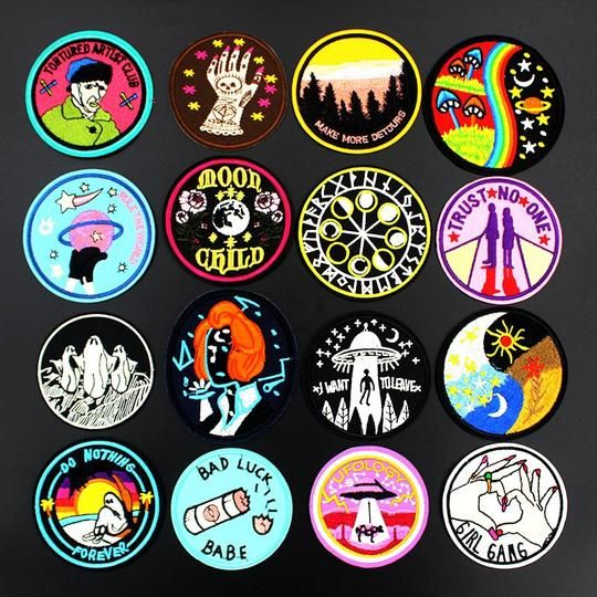 Pizza Pie Embroidered Iron On Patch 1.75 Inch