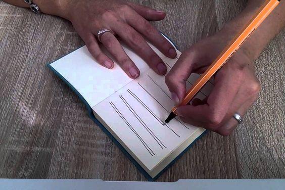 Einfaches Muster, Video-Anleitung, Schritt für Schritt