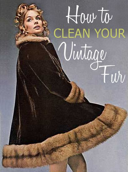 How to Clean &amp Refresh Your Vintage Fur Coats | Bring Your Vintage