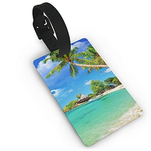 Beaches Handbag Tag For Suitcase Bag Accessories 2 Pack Luggage Tags