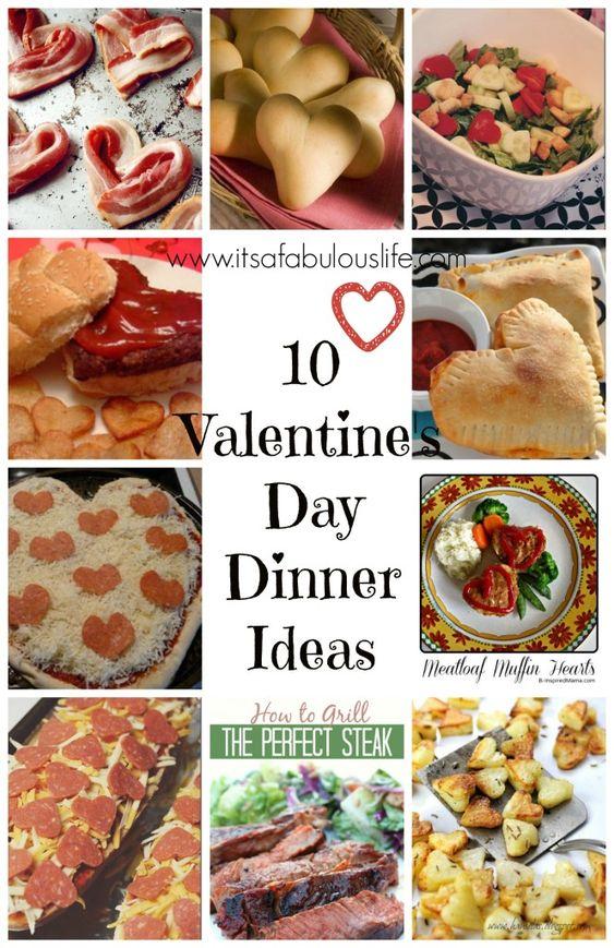 10 Valentine S Day Dinner Ideas Lots Of Super Fun Ideas