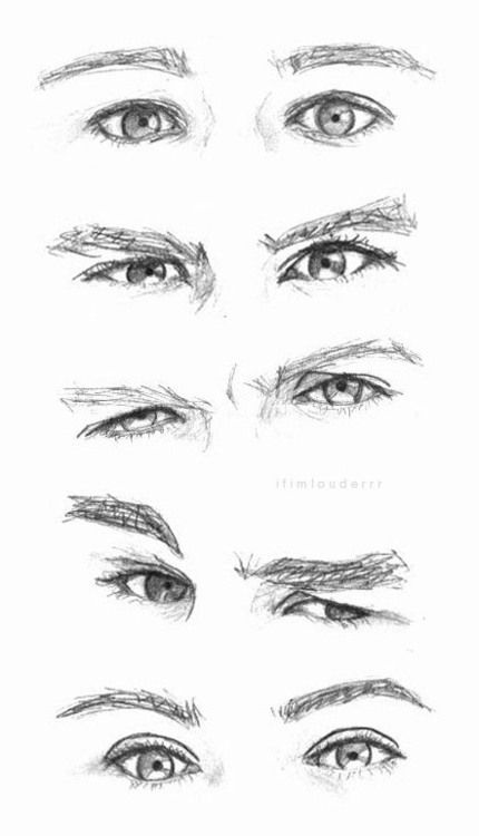 wish I could draw their eyes like that!!
