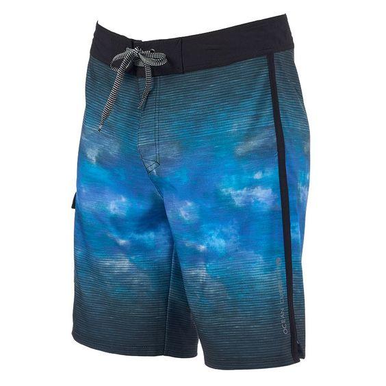 Men's Ocean Current Skyward Board Shorts, Size: