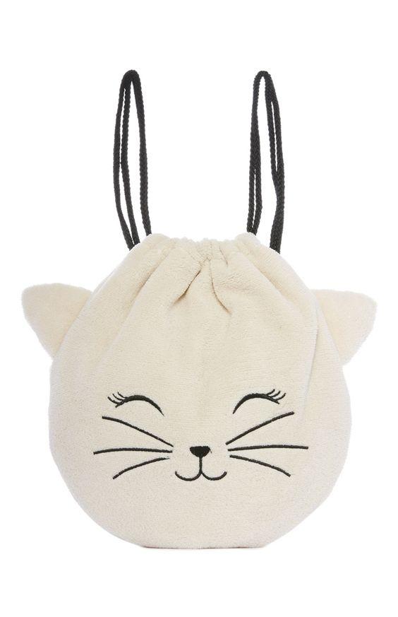 Primark - Flauschige Kätzchen-Sporttasche